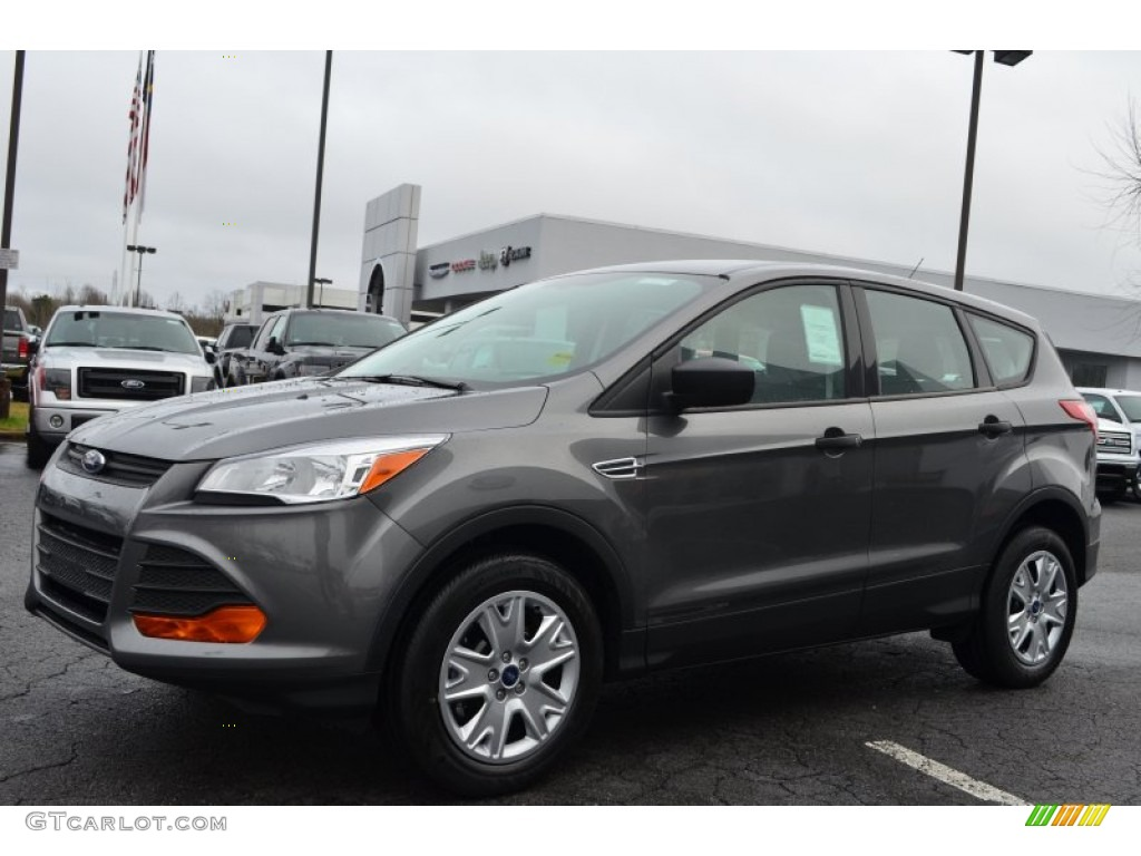 Sterling gray metallic 2013 ford escape s exterior photo 76005190 for Ford escape exterior colors 2014
