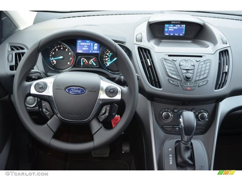 2013 Ford Escape S Charcoal Black Dashboard Photo