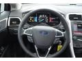 Charcoal Black Steering Wheel Photo for 2013 Ford Fusion #76006771