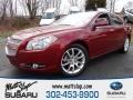 Red Jewel Tintcoat 2010 Chevrolet Malibu LTZ Sedan