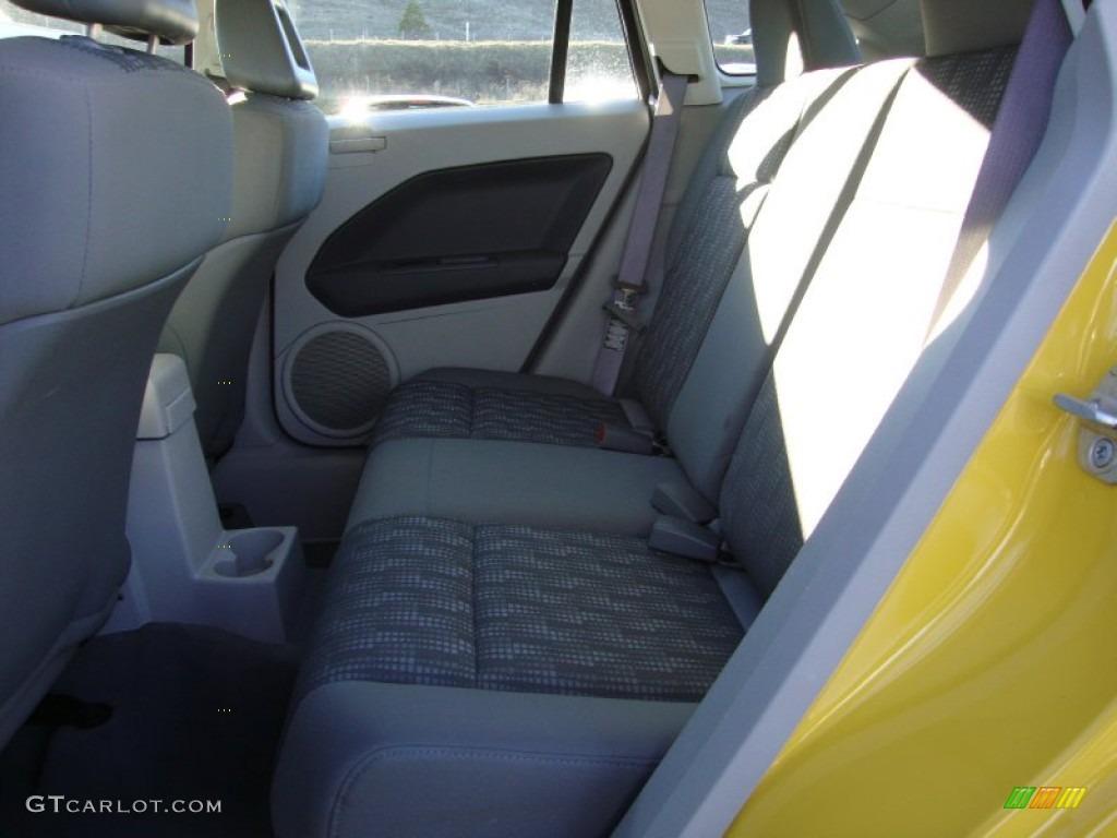 Pastel Slate Gray Interior 2007 Dodge Caliber Sxt Photo 76024347