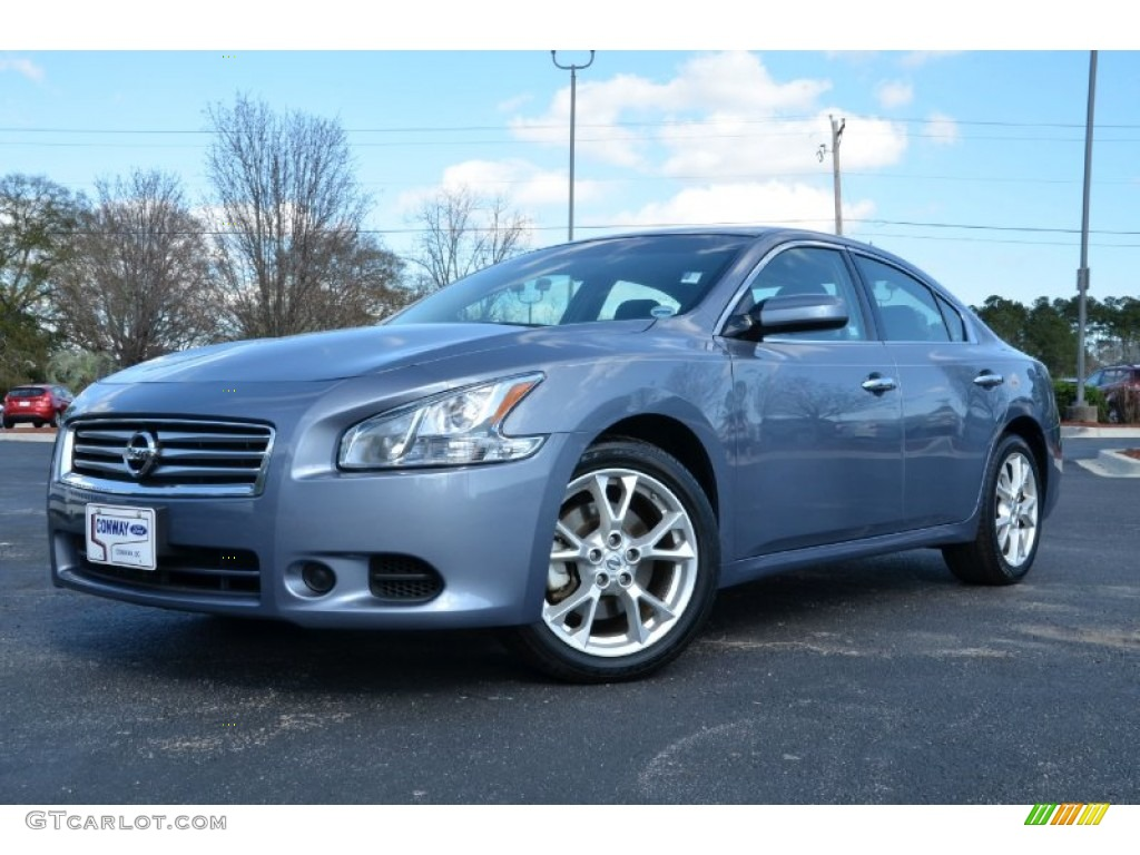 2012 ocean gray nissan maxima 3 5 s 76018120 car color galleries. Black Bedroom Furniture Sets. Home Design Ideas