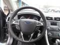SE Appearance Package Charcoal Black/Red Stitching Steering Wheel Photo for 2013 Ford Fusion #76061019