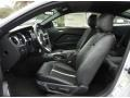 2013 Ford Mustang Charcoal Black/Cashmere Accent Interior Front Seat Photo