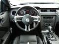 2013 Ford Mustang Charcoal Black/Cashmere Accent Interior Dashboard Photo