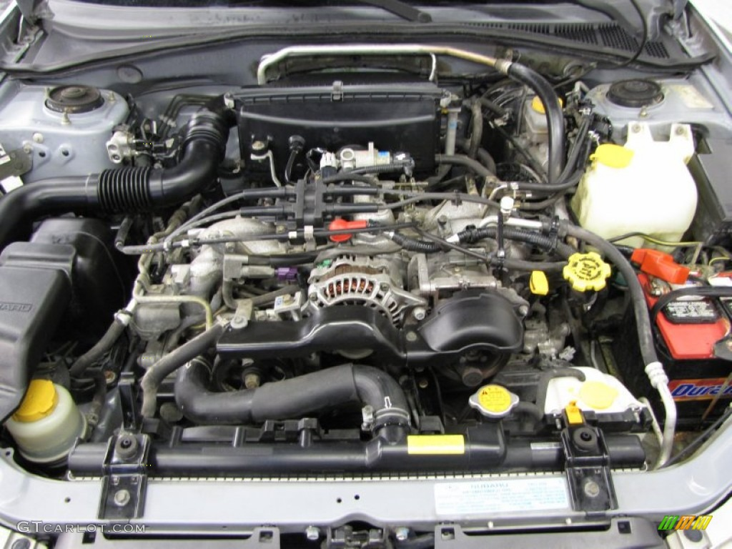 2003 Subaru Impreza Outback Sport Wagon Engine Photos