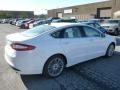 2013 Oxford White Ford Fusion SE 1.6 EcoBoost  photo #2