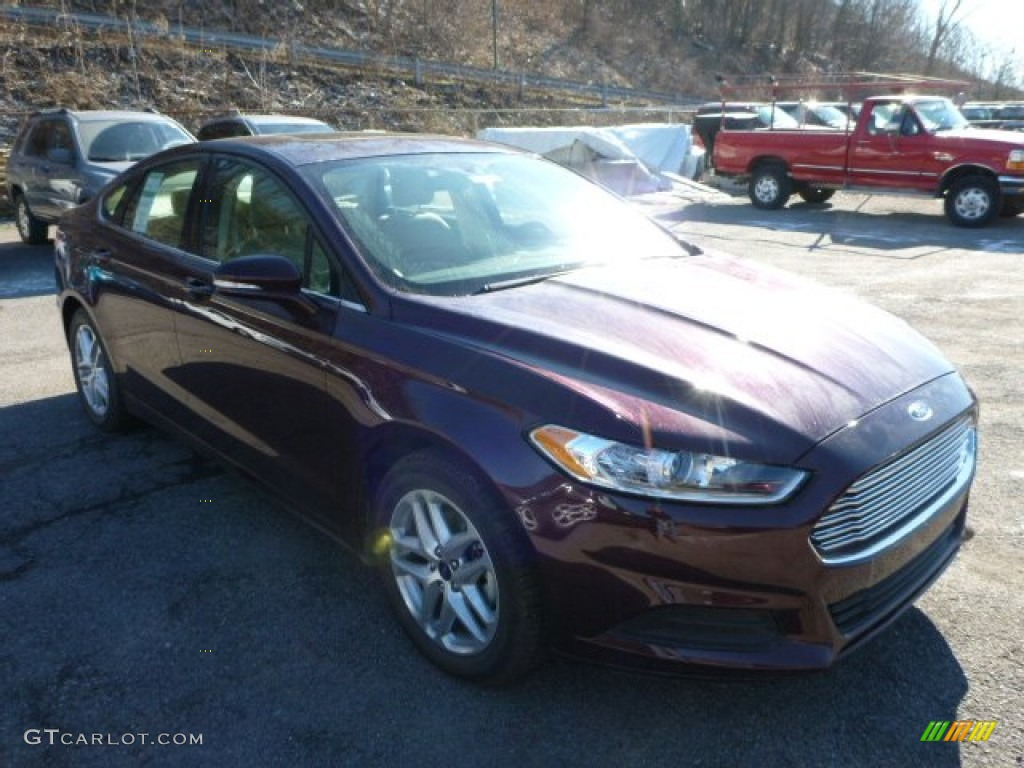Bordeaux Reserve Red Metallic Ford Fusion