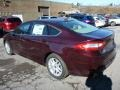 2013 Bordeaux Reserve Red Metallic Ford Fusion SE  photo #4