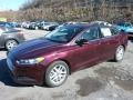 2013 Bordeaux Reserve Red Metallic Ford Fusion SE  photo #5