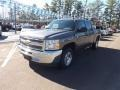 2013 Mocha Steel Metallic Chevrolet Silverado 1500 LT Crew Cab  photo #1