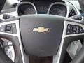 Jet Black/Light Titanium Steering Wheel Photo for 2010 Chevrolet Equinox #76097348