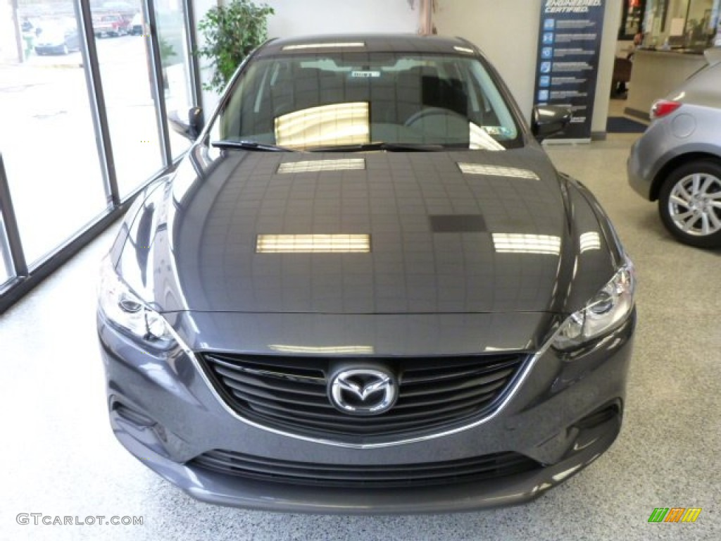 Gray Mazda 6 2014