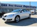 White Diamond Tri Coat 2009 Pontiac G6 GT Convertible