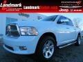 2012 Bright White Dodge Ram 1500 Laramie Limited Crew Cab 4x4  photo #1