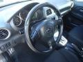2005 Subaru Impreza Black Interior Steering Wheel Photo