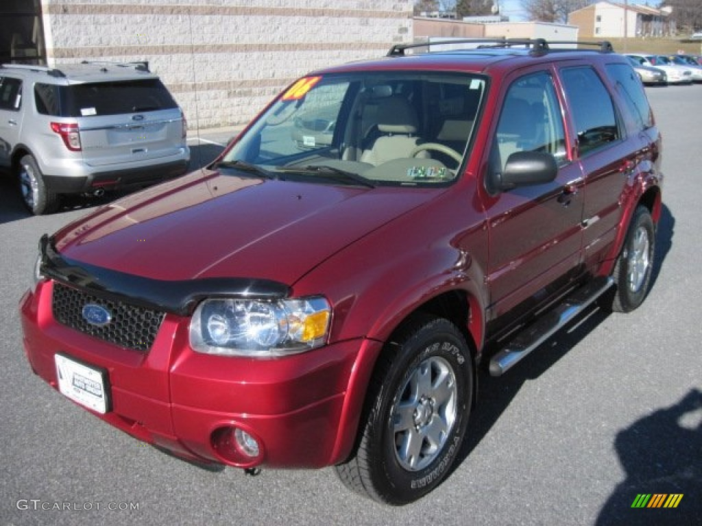 2006 Ford Escape Limited 28 Images