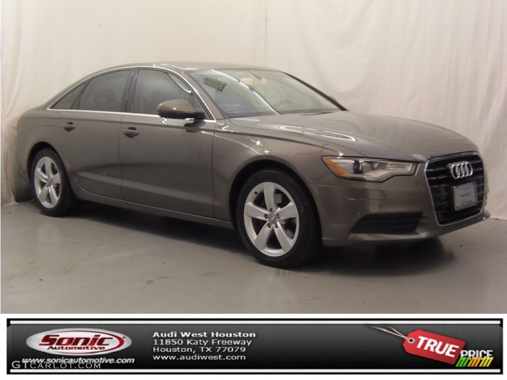 2012 dakota gray metallic audi a6 2.0t sedan #76072213 | gtcarlot