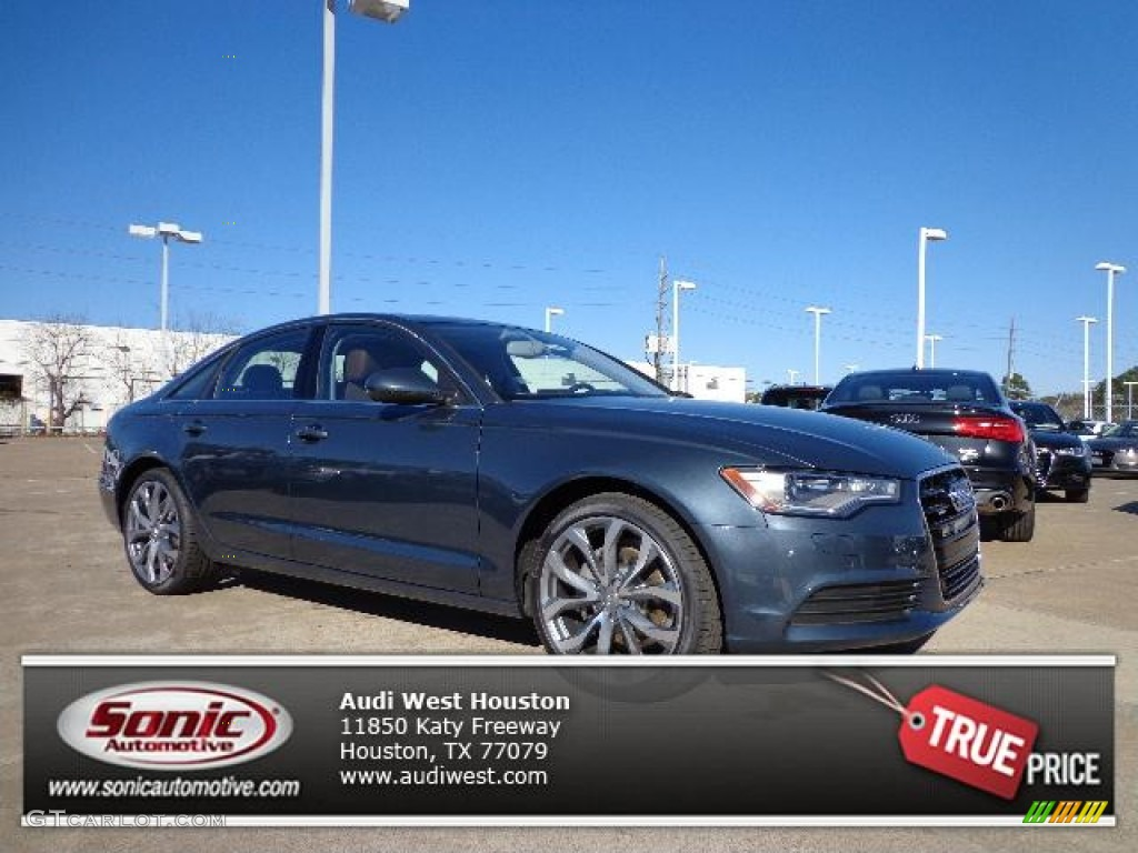 2013 Aviator Blue Metallic Audi A6 2 0t Quattro Sedan