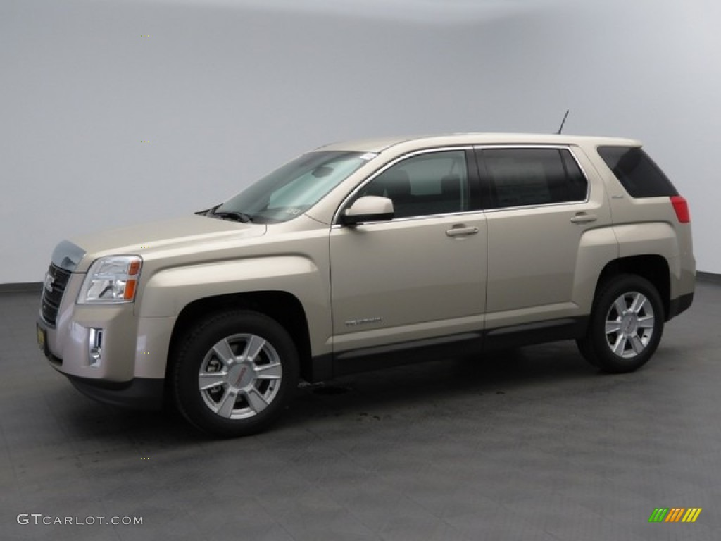 2013 champagne silver metallic gmc terrain sle 76127880 car color galleries. Black Bedroom Furniture Sets. Home Design Ideas