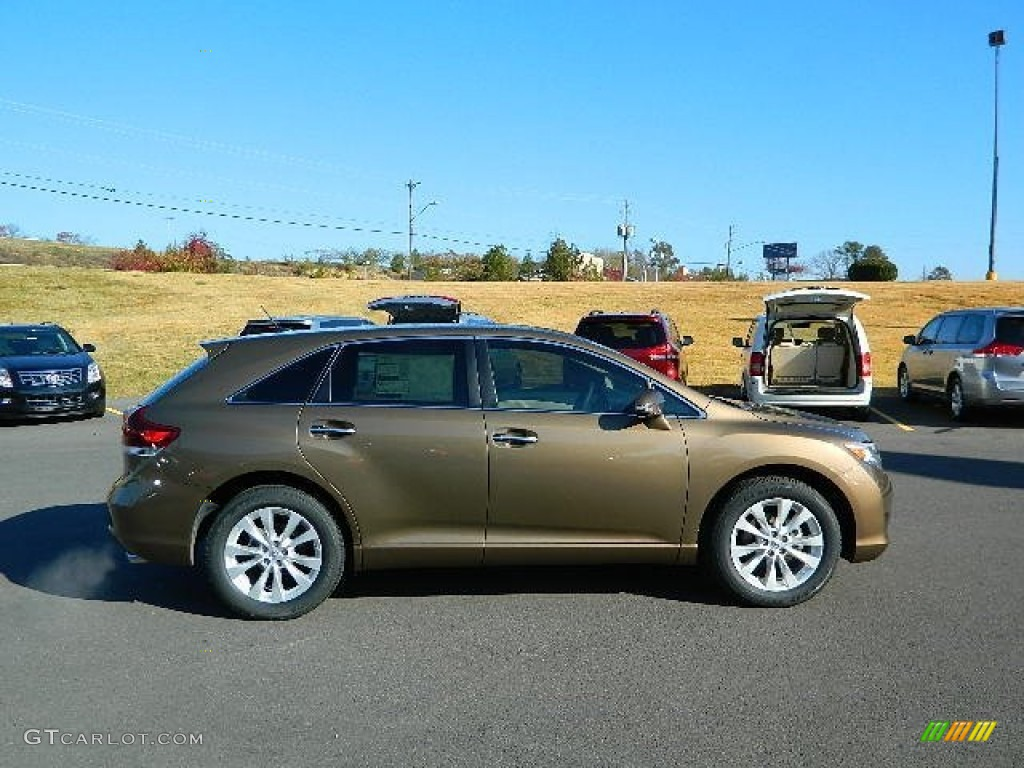 golden umber metallic 2013 toyota venza xle exterior photo. Black Bedroom Furniture Sets. Home Design Ideas