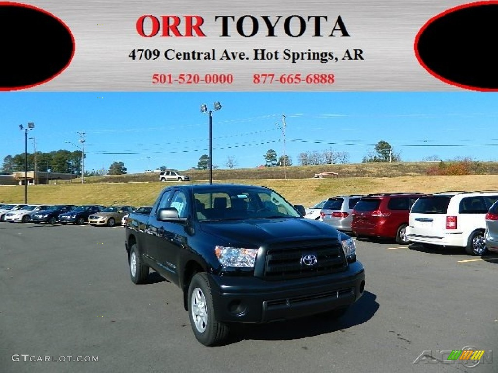 2013 Tundra Double Cab - Black / Graphite photo #1