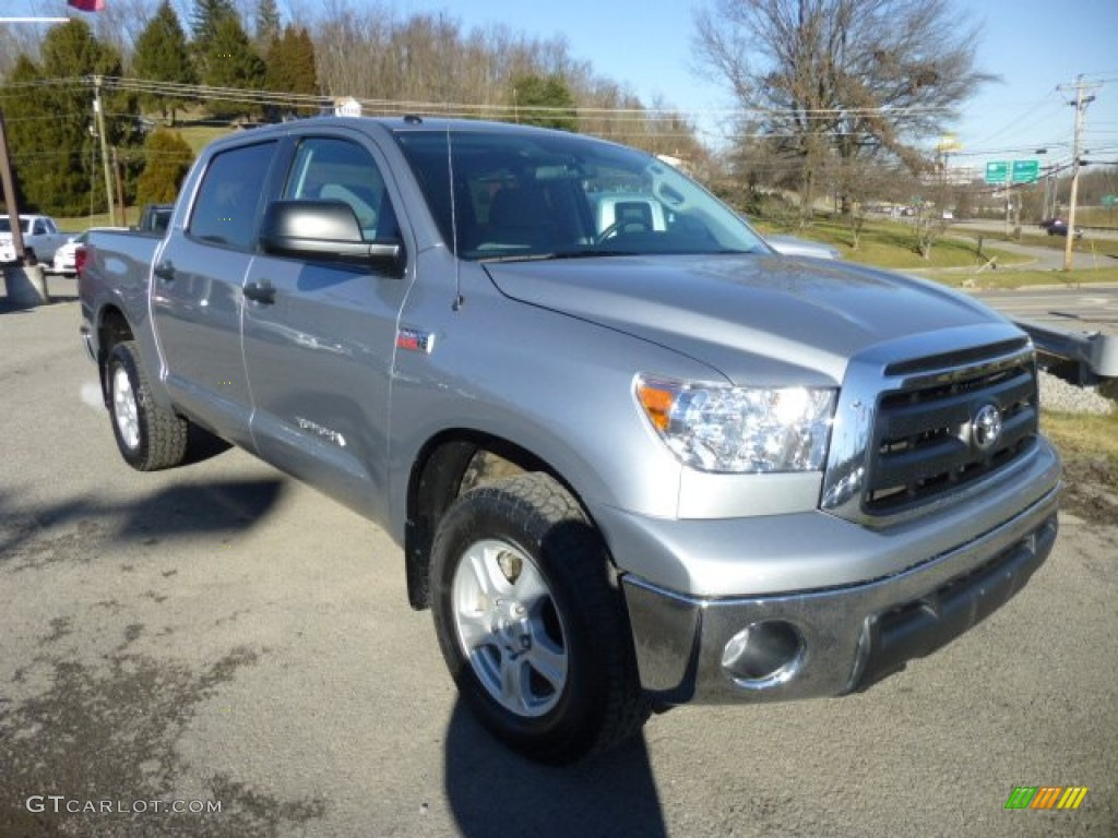 2011 Tundra SR5 CrewMax 4x4 - Silver Sky Metallic / Graphite Gray photo #1