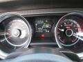2013 Ford Mustang Shelby Charcoal Black/Blue Accent Interior Gauges Photo