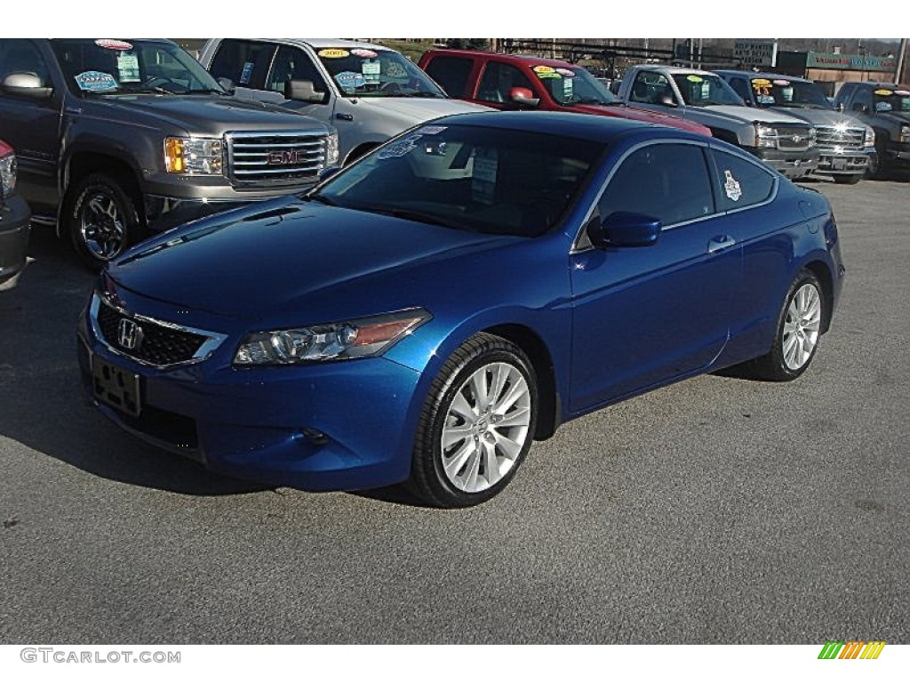 2009 Belize Blue Pearl Honda Accord Ex L V6 Coupe