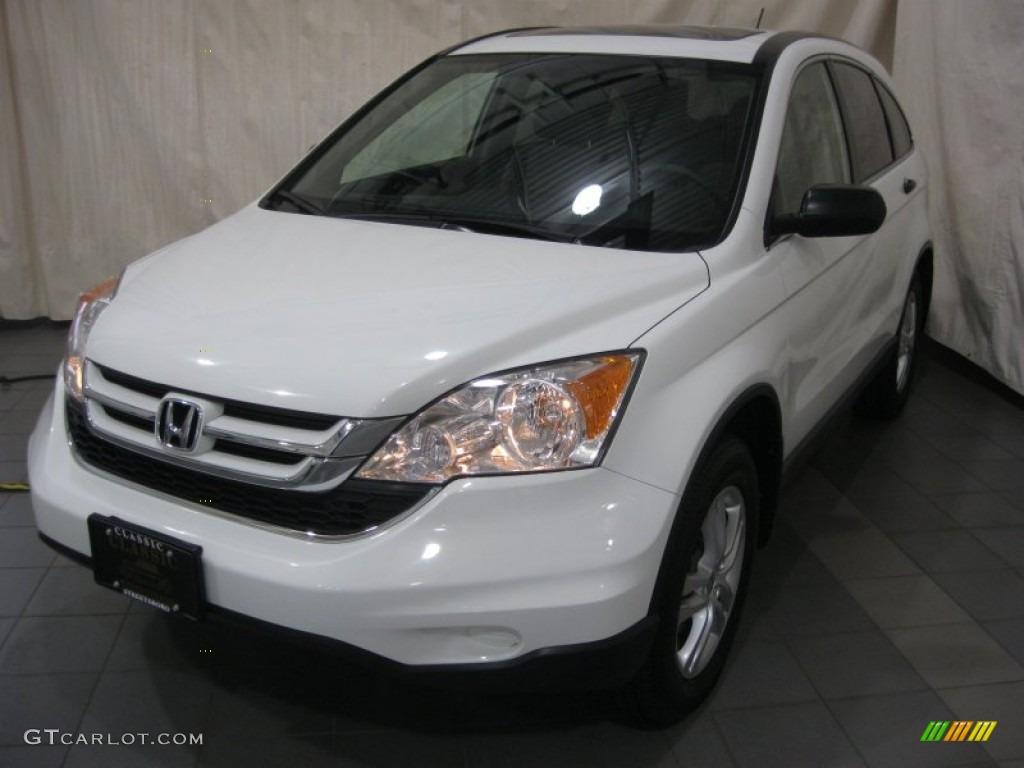 Taffeta White Honda CR-V