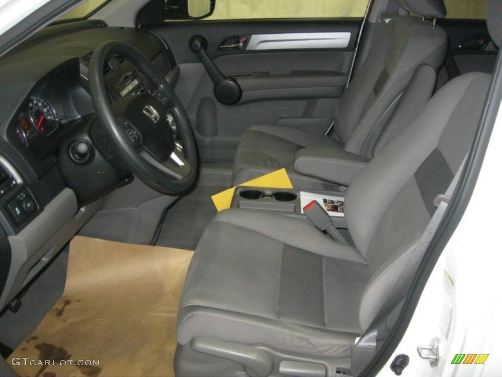 2011 CR-V EX - Taffeta White / Gray photo #15