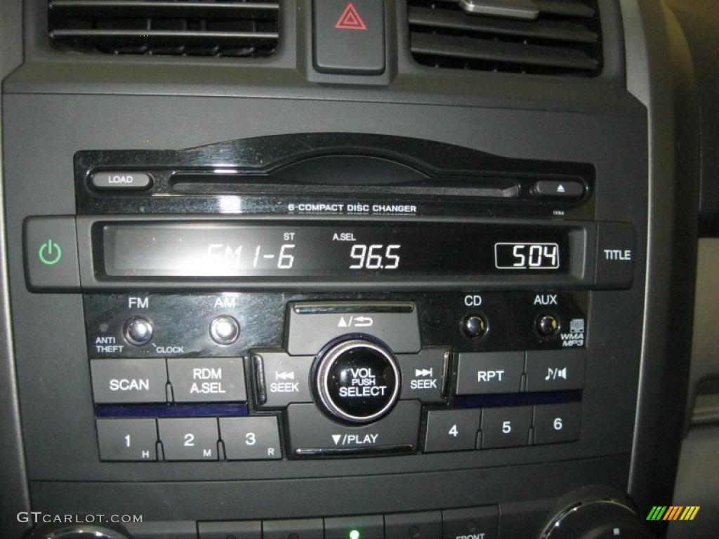 2011 CR-V EX - Taffeta White / Gray photo #23