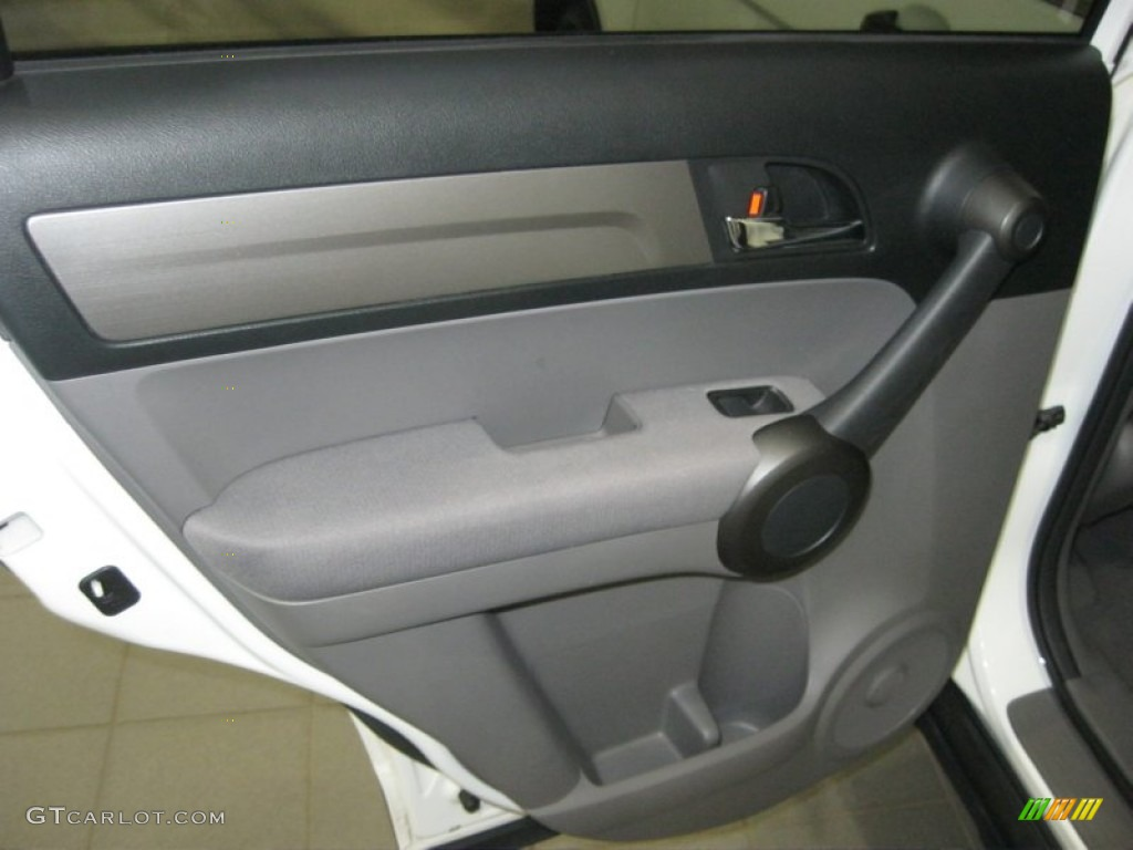 2011 CR-V EX - Taffeta White / Gray photo #29