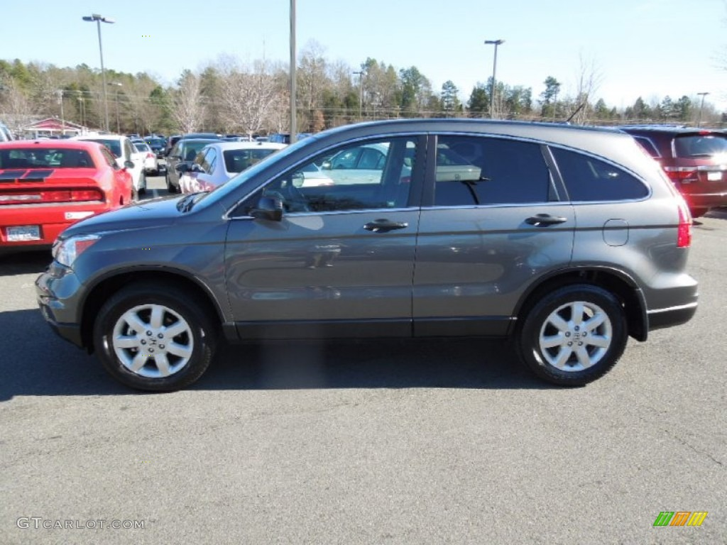 2011 CR-V SE - Polished Metal Metallic / Black photo #3