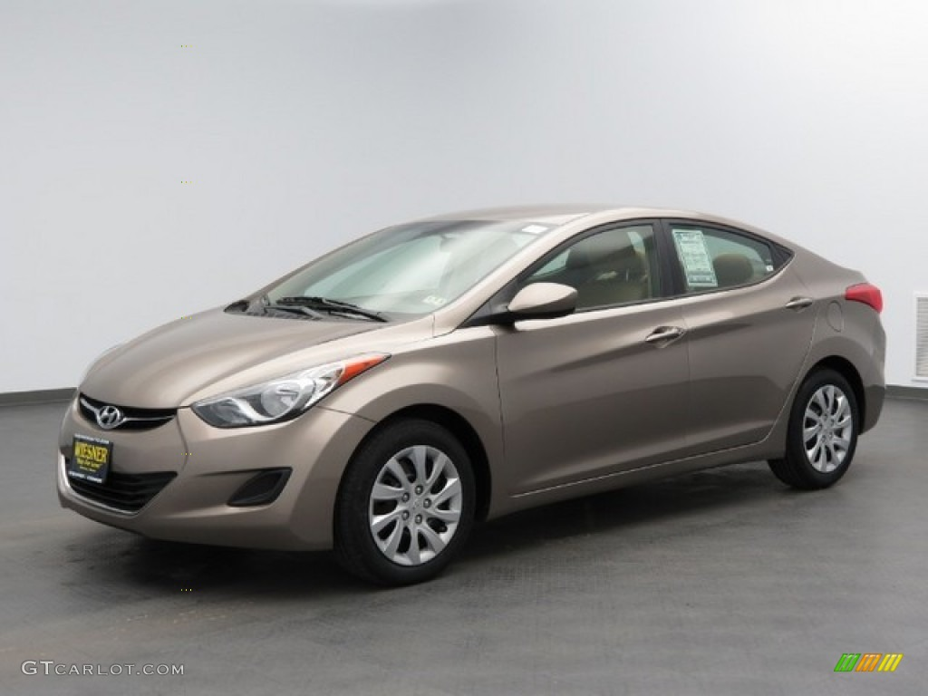Elantra Gls 2015 >> 2012 Desert Bronze Hyundai Elantra GLS #76127908 | GTCarLot.com - Car Color Galleries