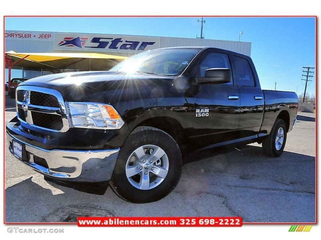 2013 black ram 1500 slt quad cab 76127454 car color galleries. Black Bedroom Furniture Sets. Home Design Ideas