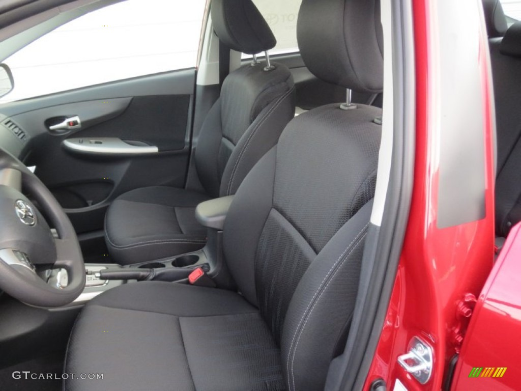 Dark Charcoal Interior 2013 Toyota Corolla S Photo 76194675