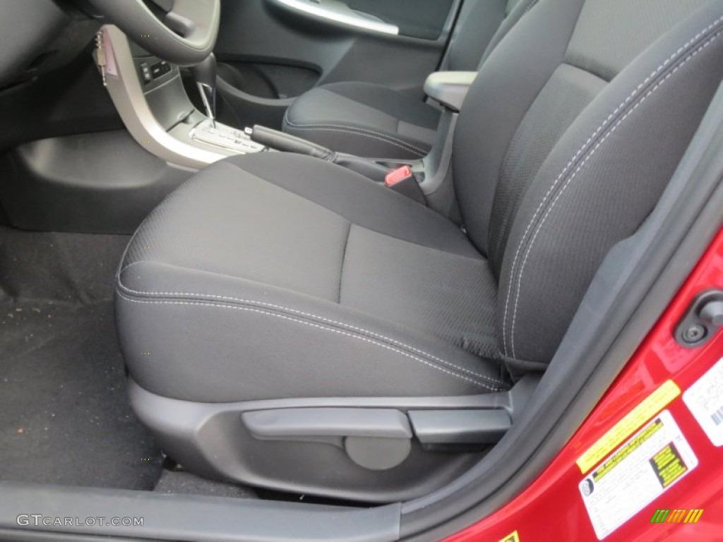 Dark Charcoal Interior 2013 Toyota Corolla S Photo 76194690