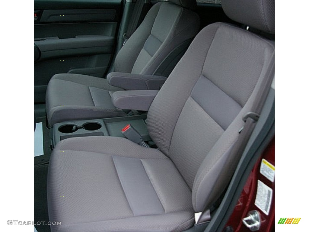 2009 CR-V LX 4WD - Tango Red Pearl / Gray photo #3