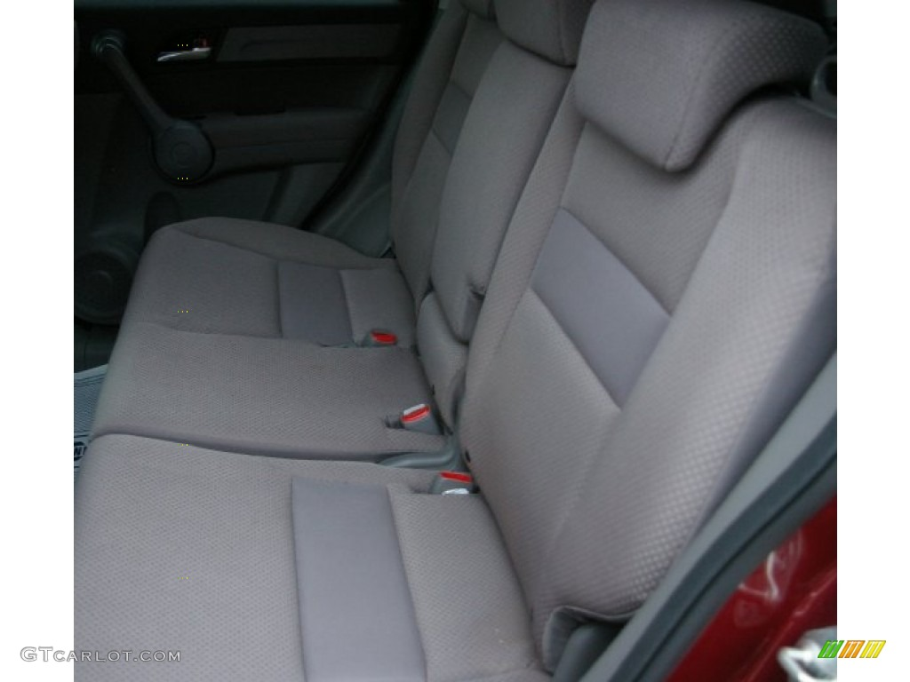 2009 CR-V LX 4WD - Tango Red Pearl / Gray photo #4