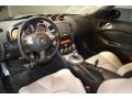 Gray Leather 2010 Nissan 370Z Interiors
