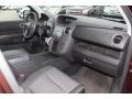 2010 Honda Pilot Black Interior Dashboard Photo
