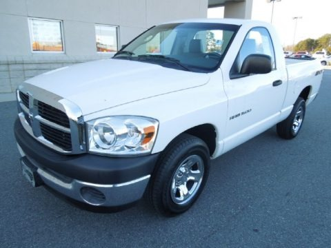 2007 Dodge Ram 1500 SXT Regular Cab Data, Info and Specs
