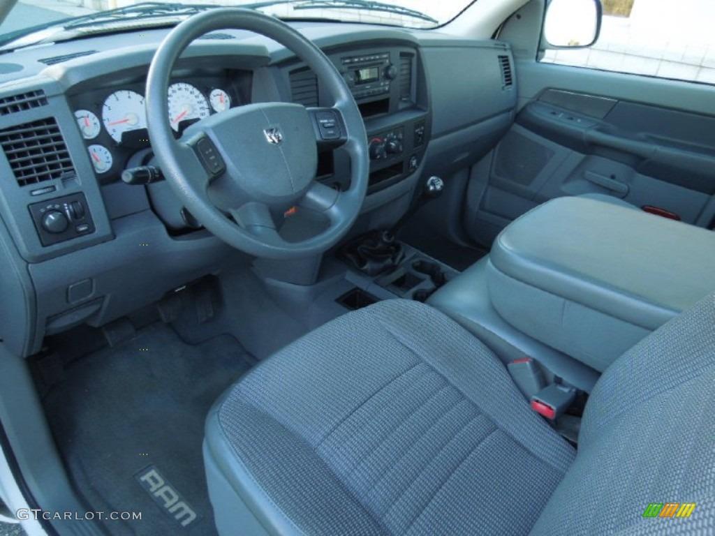 2007 Dodge Ram 1500 Sxt Regular Cab Interior Color Photos