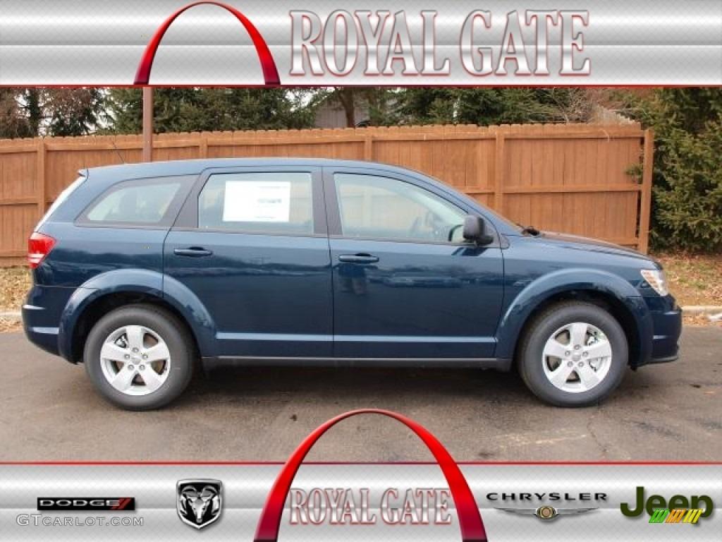 2013 Fathom Blue Pearl Dodge Journey American Value Package 76223898 Gtcarlot Com Car Color Galleries