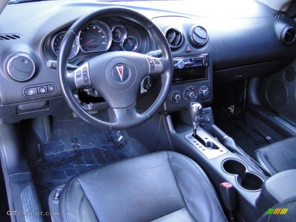 Ebony Interior 2006 Pontiac G6 Gt Coupe Photo 76238816