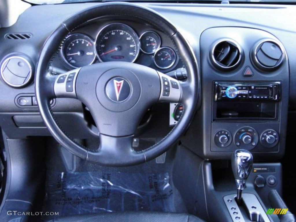2006 Pontiac G6 Gt Coupe Ebony Dashboard Photo 76238828 Gtcarlot Com