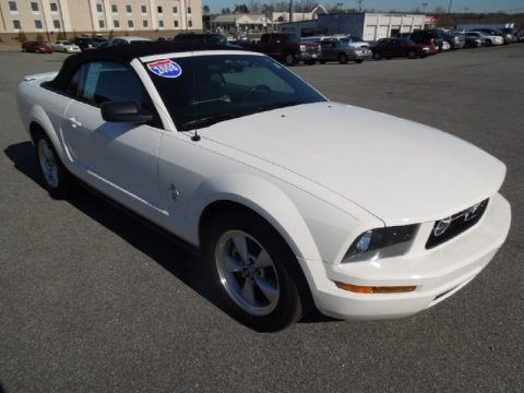 2008 ford mustang v6 premium convertible data info and. Black Bedroom Furniture Sets. Home Design Ideas