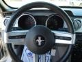 2008 Ford Mustang Light Graphite Interior Steering Wheel Photo
