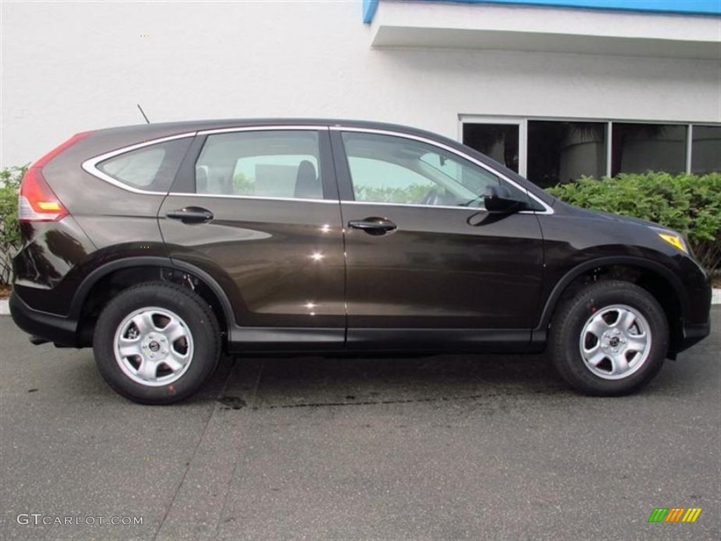 Kona Coffee Metallic 2013 Honda Cr V Lx Exterior Photo 76244835
